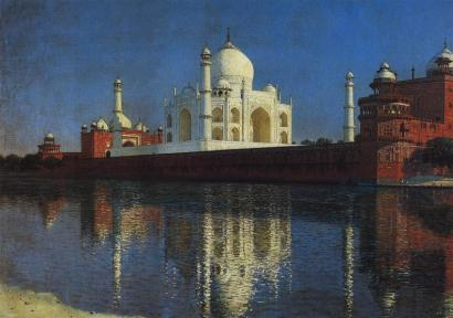 Wasilij Wereszczagin: Mauzoleum Tadż Mahal w Agrze
