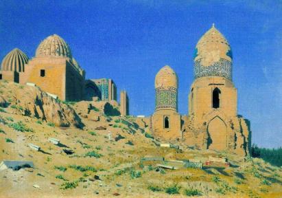 Wasilij Wereszczagin: Mauzoleum w Samarkandzie