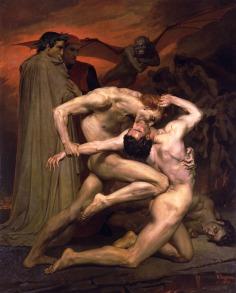 William-Adolphe Bouguereau: Dante i Wergiliusz w piekle