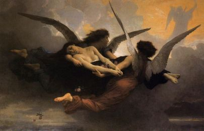 William-Adolphe Bouguereau: Dusza uniesiona do niebios