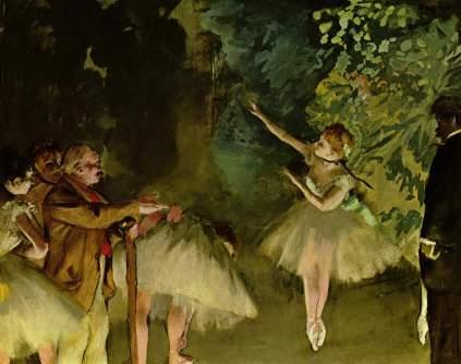 Edgar Degas, Próba baletu
