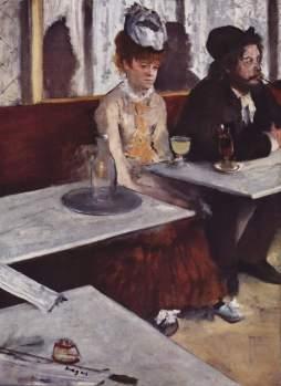 Edgar Degas, Pijący absynt