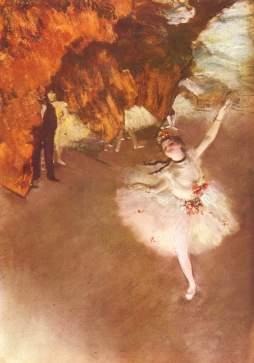 Edgar Degas, Balet