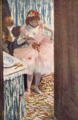 Edgar Degas, Przed baletem