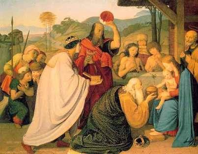 Friedrich Overbeck: Adoracja Magów