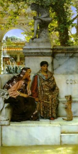 Sir Lawrence Alma-Tadema: W dobie Konstantyna