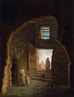 Hubert Robert: Ruiny
