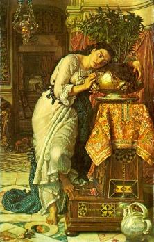 William Holman Hunt: Izabella