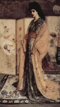 James Whistler: Porcelanowa księżniczka
