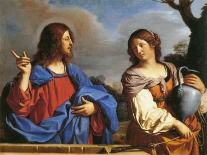 Guercino: Chrystus i Samarytanka