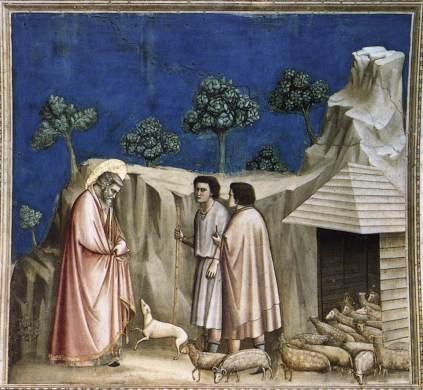 Giotto: Joachim i pasterze