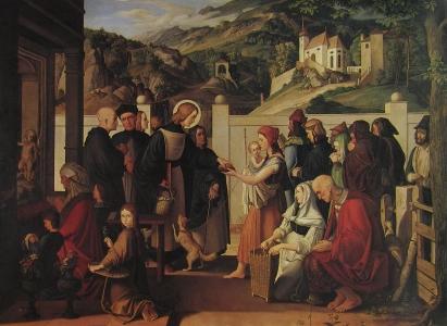 Julius Schnorr von Carolsfeld: Święty Roch