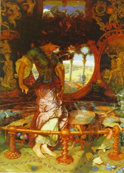 William Holman Hunt: Lady Shalotte