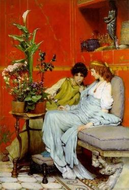 Sir Lawrence Alma-Tadema: Sekrety