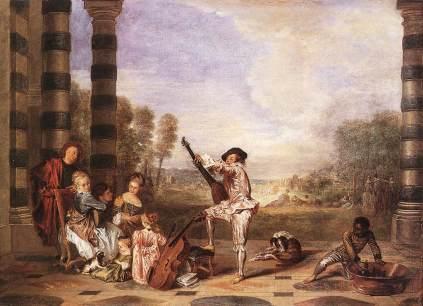 Antoine Watteau: Les charmes de la vie