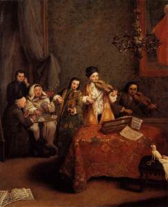 Pietro Longhi: Koncert