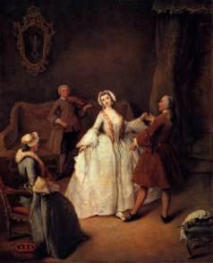 Pietro Longhi: Lekcja tańca