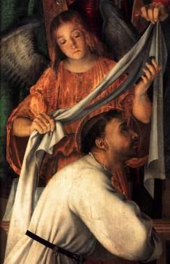 Lorenzo Lotto: Św. Franciszek z aniołem