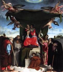 Lorenzo Lotto: Madonna św. Bernarda