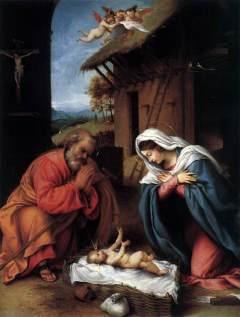 Lorenzo Lotto: Narodzenie