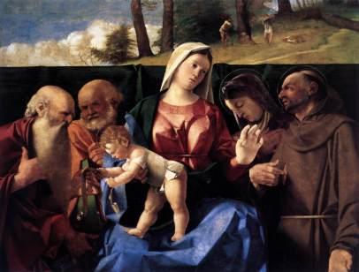 Lorenzo Lotto: Santa Conversazione