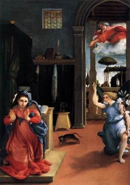 Lorenzo Lotto: Zwiastowanie