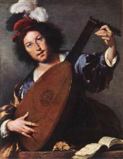 Bernardo Strozzi: Lutnista
