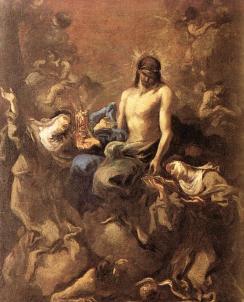 Alessandro Magnasco: Chrystusa adorowany przez anioły