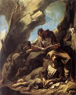 Alessandro Magnasco: Mnisi w grocie