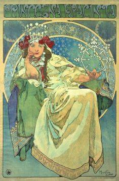 Alfons Mucha: Księżniczka Hiacynta