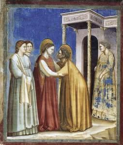 Giotto: Nawiedzenie Elżbiety
