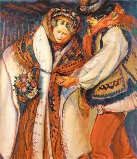 Fryderyk Pautsch: Nowożeńcy