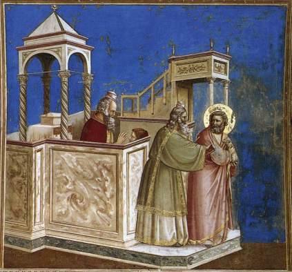 Giotto: Odrzucenie Joachima