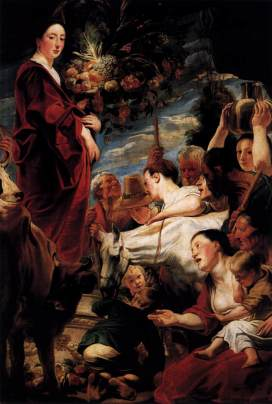 Jacob Jordaens: Ofiarowanie Ceres
