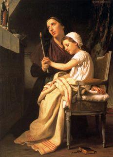 William-Adolphe Bouguereau: Ofiarowanie