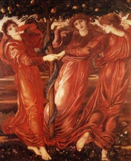 Edward Burne-Jones: Ogród Hesperyd