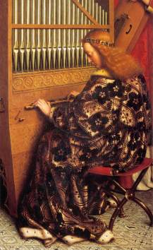 Jan van Eyck: Oltarz Gandawski (detal)