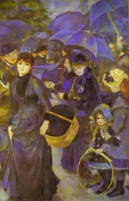 Auguste Renoir, Parasolki