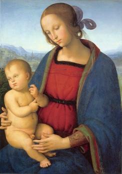 Pietro Perugino: Madonna z Dzieciątkiem