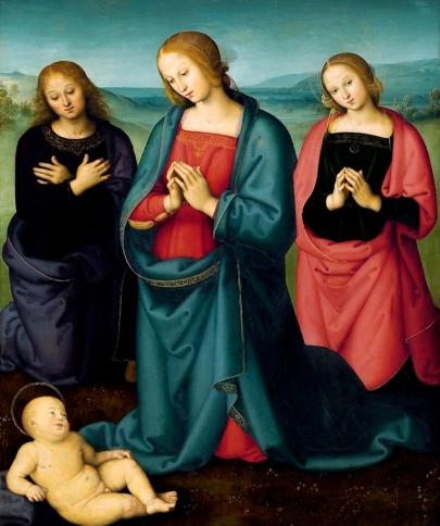 Pietro Perugino: Narodziny Pańskie