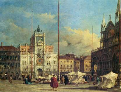 Francesco Guardi: Piazza San Marco