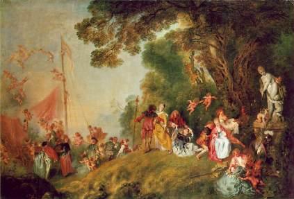 Antoine Watteau: Pielgrzymka na Cyterę