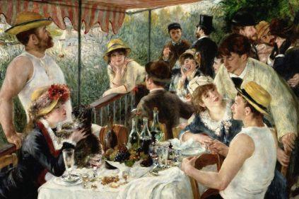 Auguste Renoir: Śniadanie wioślarzy