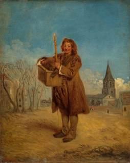 Antoine Watteau: Kataryniarz