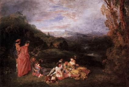 Antoine Watteau: Spokojna miłość