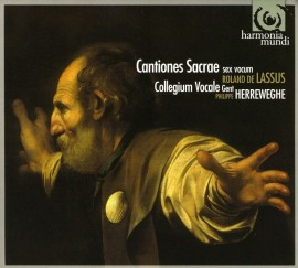 Cantiones sacrae (okładka płyty)
