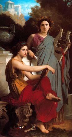 William-Adolphe Bouguereau: Sztuka i literatura