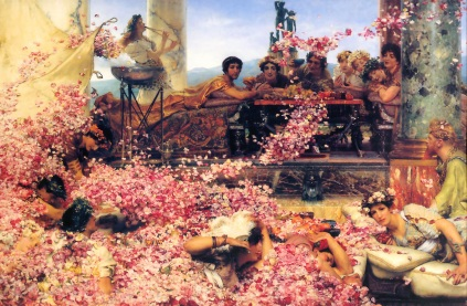 Sir Lawrence Alma-Tadema: Róze Heliogabala