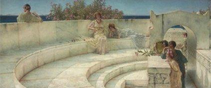 Sir Lawrence Alma-Tadema: Pod niebem jońskim