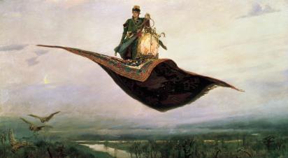 Wiktor Wasniecow: Latający dywan